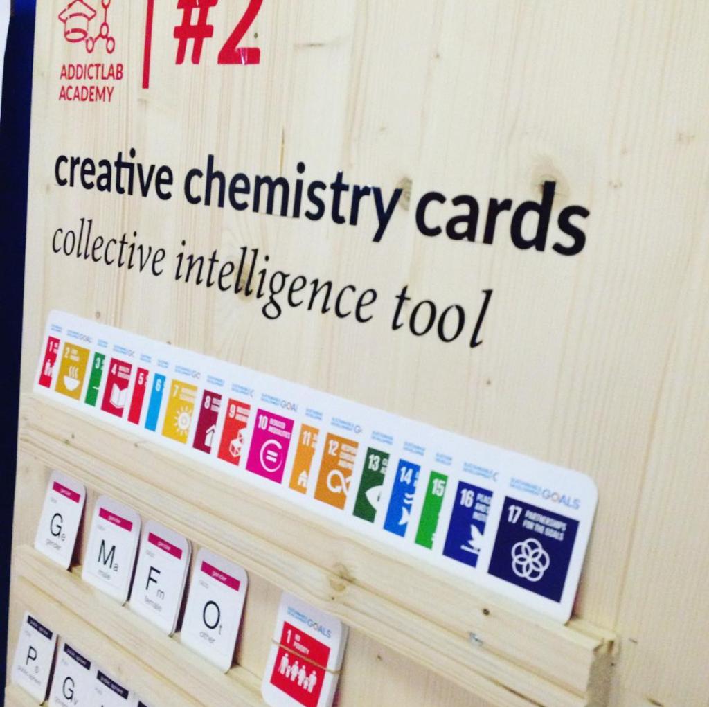 Creative Chemistry Cards by Addictlab. Addictlab Academy